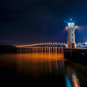 the lighthouse by Max Ooi - Landscapes Waterscapes