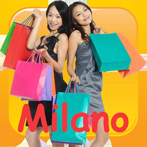 Women's shopping in Milan