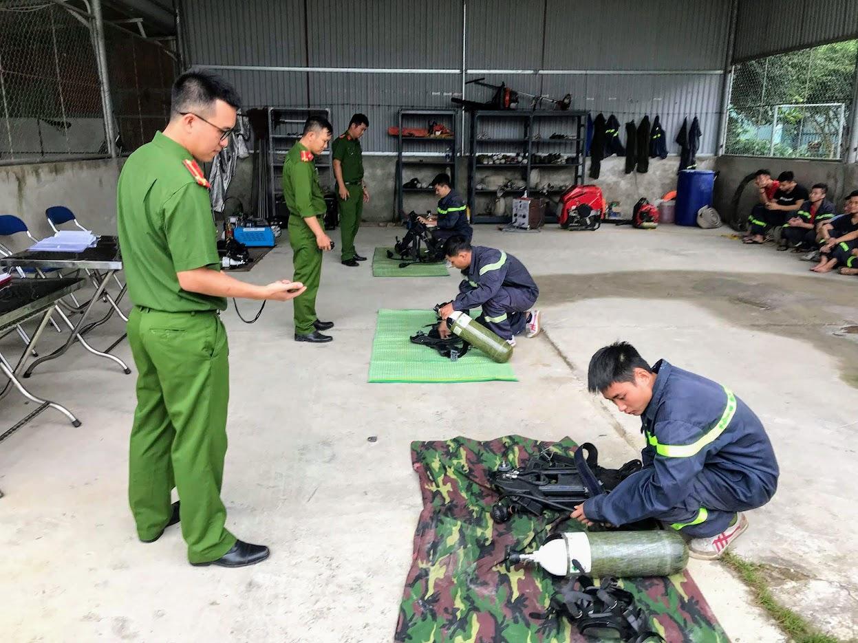 Chuẩn bị công cụ cứu hỏa phải hoàn thành trong thời gian quy định
