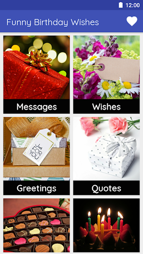 Funny Birthday Wishes: Status, Greetings & Quotes  screenshots 1