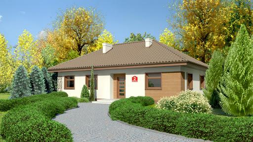projekt Dom przy Klonowej 2