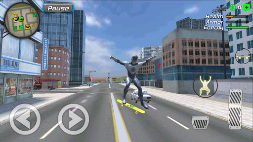 Hurricane Superhero : Wind Tornado Vegas Mafia screenshots 2