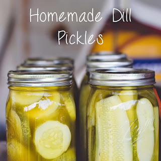 How to Make Homemade Dill Pickles.