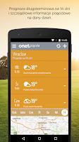 Screenshot of Onet Pogoda