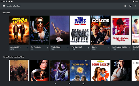 Plex: Stream Movies, Shows, Music, and other Media  App Download For Android and iPhone 9