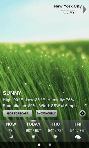 Weather HD screenshot 2