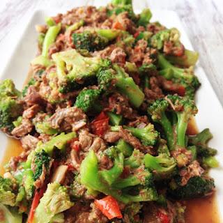 Healthified Crock Pot Beef & Broccoli.