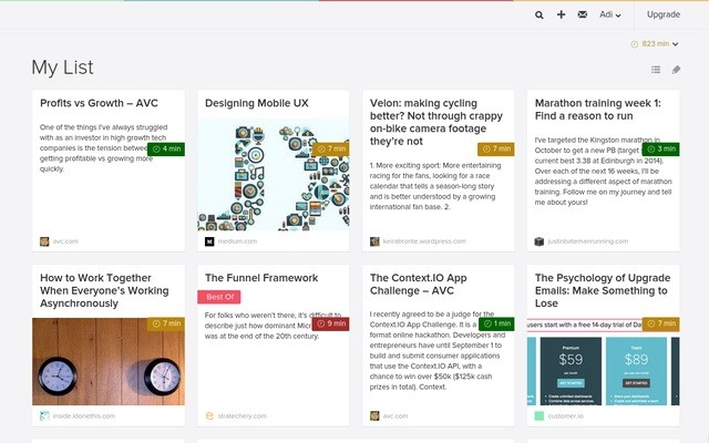 AcceleReader, Power-up your Pocket experience chrome extension
