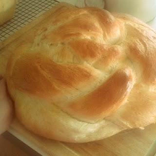 Italian Herb Braided Bread Loaf