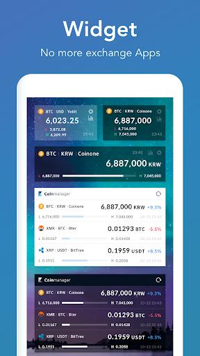 CoinManager- Bitcoin, Ethereum, Ripple finance app 1.04.83 screenshots 6