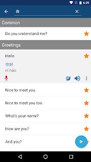 Learn Chinese Mandarin Phrases screenshot 03
