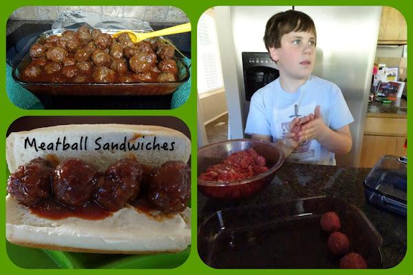Meatball Sandwiches Recipe