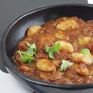 Arabic Seven Spice (Baharat) White Bean Stew