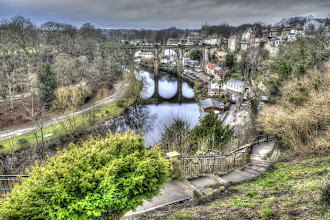 Photo: Knaresborough Viaduct part of Leeds and Thirsk railway (Leeds Northern Railway) completed in 1851 after the previous viaduct collapsed.
