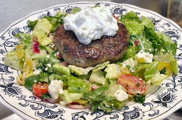 Gyro Salad With Lamb Recipe