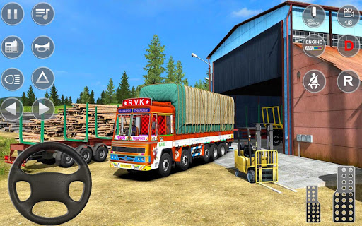 Indian Truck Spooky Stunt : Cargo Truck Driver 1.0 screenshots 1
