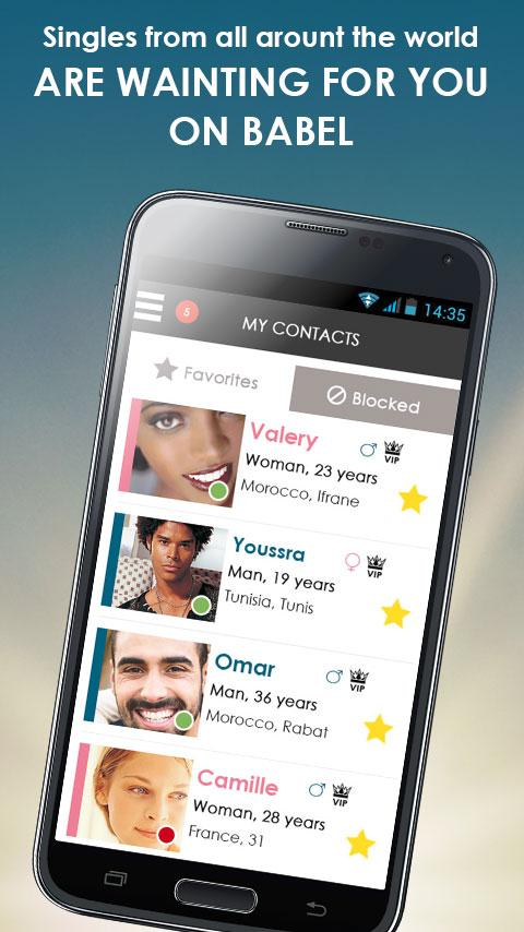 BABEL: Chat & dating- screenshot
