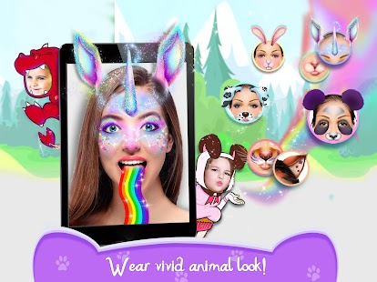 Crazy Animal Selfie Filters Screenshot