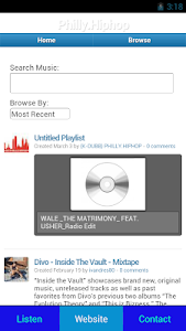 Philly.Hiphop Radio screenshot 5