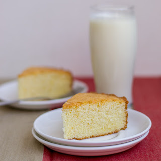 Plain Vanilla Sponge Cake - Moist and Fluffy Recipe