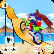 Superhero Stunt Tricky Bike