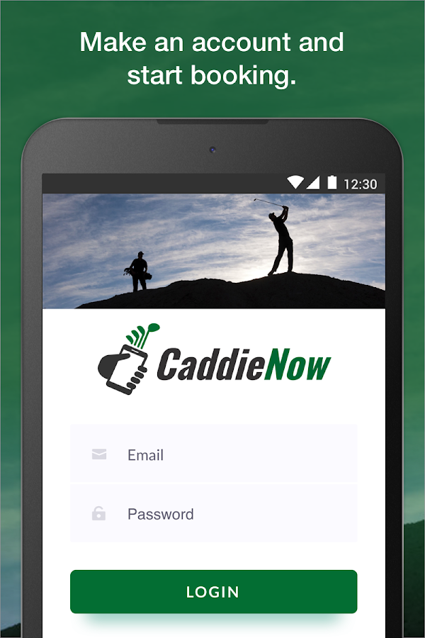 CaddieNow- screenshot