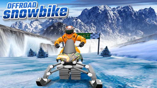 OffRoad Snow Bike 1.0 screenshots 6