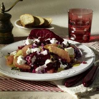 Rotkohl-Grapefruit-Salat