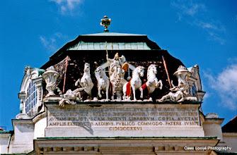 Photo: 17 mei. Wenen. Nabij de Hofburg.