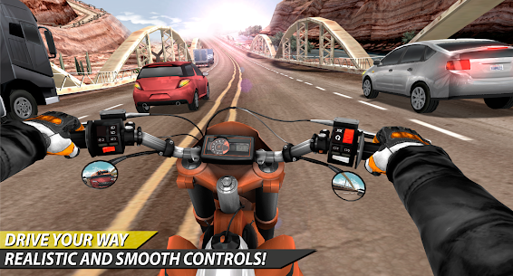 Moto Rider In Traffic 1.0.8.4 Android Mod APK 3