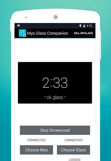 Myo Glass Companion Demo