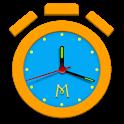Alarm Clock + Timer + Stopwatch icon