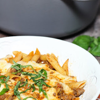 Penne Pasta Ground Beef Spaghetti Sauce Recipes.