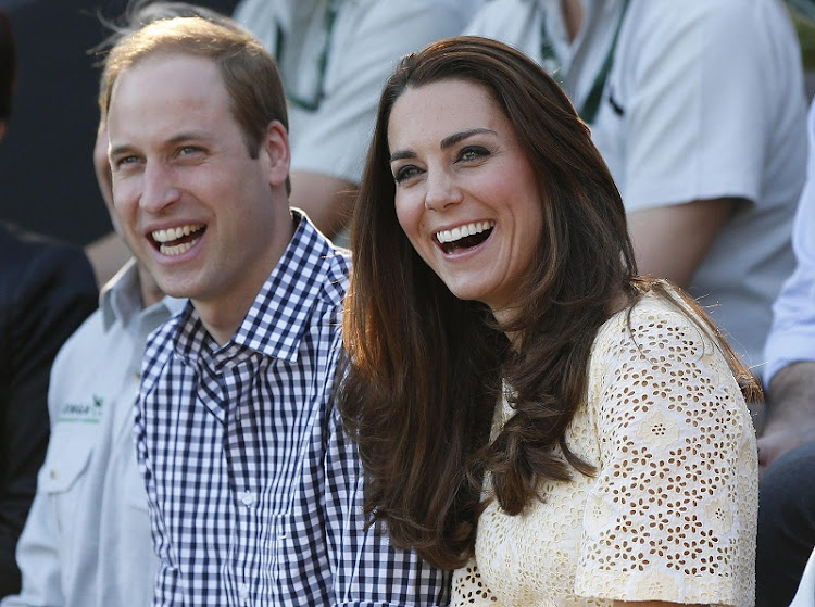 Britain's Prince William and his wife Catherine, the Duchess of Cambridge. Picture: REUTERS