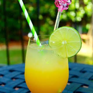 Spicy Skinny Pineapple Lime Margaritas.
