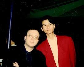 Photo: With Jimmy Lee, planning the future of China! We agreed to save the country via disco music.