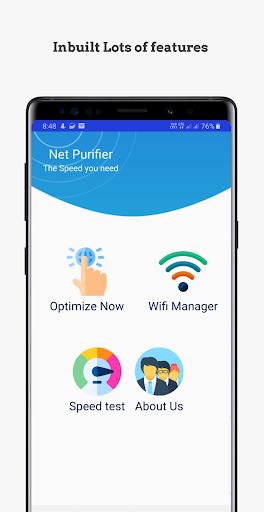 Net Purifier: DNS cache cleaner  screenshots 2