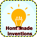 Homemade inventions. Home experiments icon