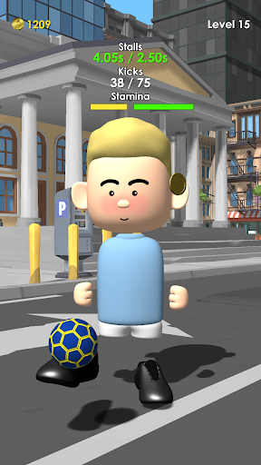 The Real Juggle - Pro Freestyle Soccer 1.2.1 screenshots 2