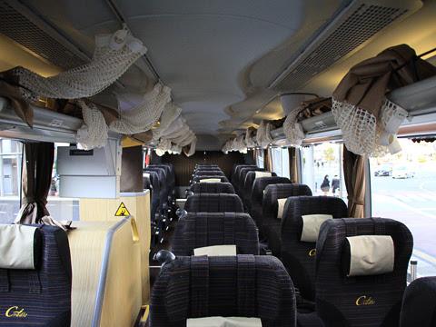西日本JRバス「グラン昼特急大阪6号」 641-16923 車内