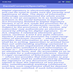 DentalConsent(Speciality) for PC-Windows 7,8,10 and Mac apk screenshot 5