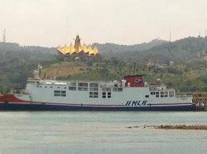 Photo: Ferry Bakauheni (Sumatra) - Merak (Java)