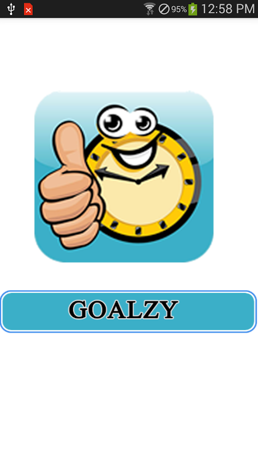Goalzy- screenshot