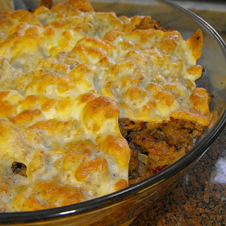 Ground Beef and Vegetable Skillet Recipe