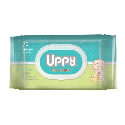 Toallas Humedas Uppy Shea Butter 72Und