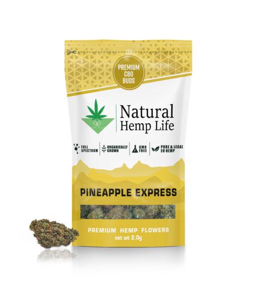 Natural Hemp Lifes Premium CBD Buds med smak av ananas