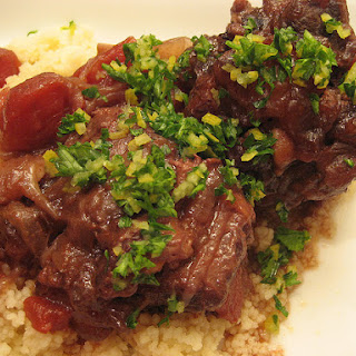 Red Wine Stewed Oxtail