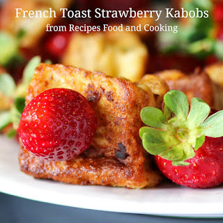 French Toast Strawberry Kabobs