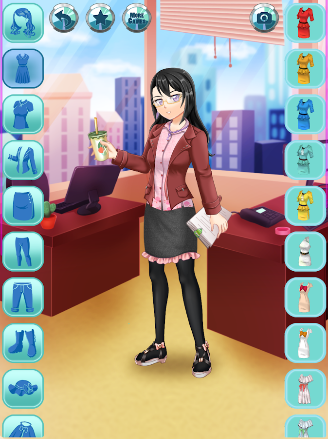 Anime Office Dress Up - Android - 548.3KB