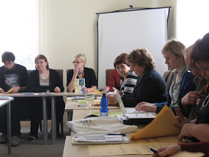Photo: Dialogue without Subtitles –koulutus Viro 12. - 16.10.2008